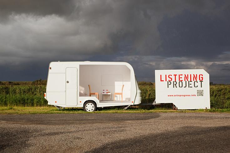 Listening Project - North Sea Cycle Route - St. Peter-Ording 2014